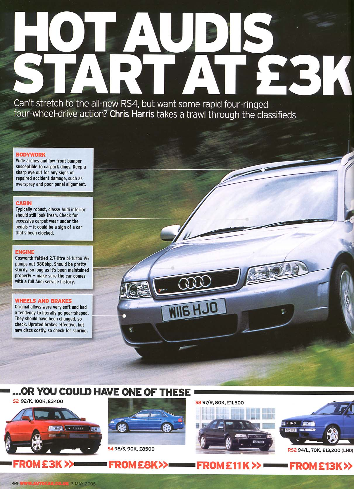 Last week's Autocar article on buying a R/S Audi? - RS246